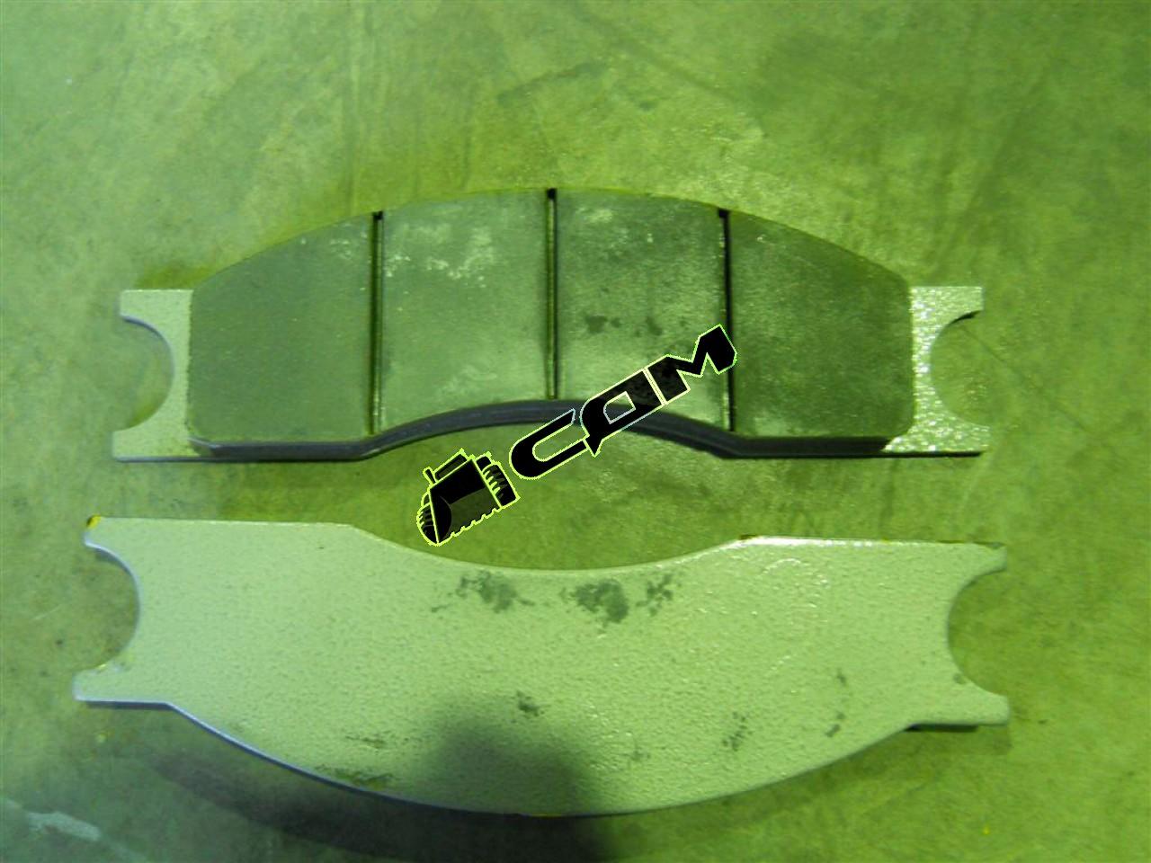 Колодки тормозные CDM833/CDM835 комплект 8 шт.  ZL30F-XZ